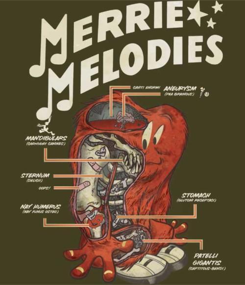 Merrie Melodies Póló - Ha Looney Tunes rajongó ezeket a pólókat tuti imádni fogod!