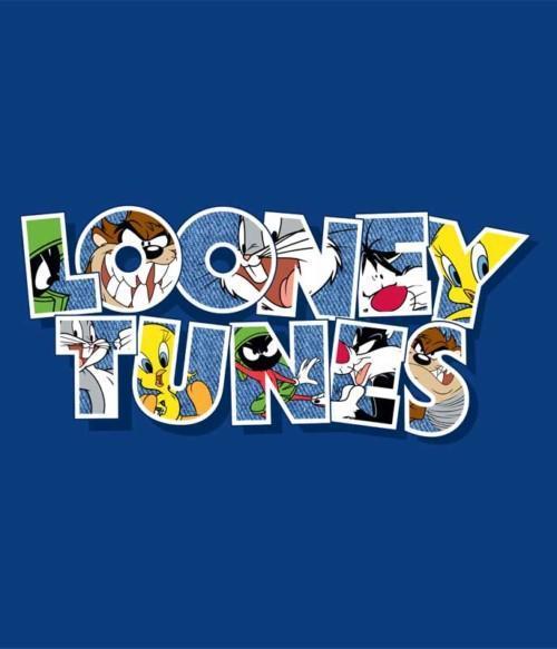 Looney Tunes Character Logo Póló - Ha Looney Tunes rajongó ezeket a pólókat tuti imádni fogod!