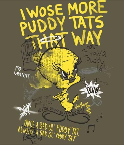 Angry Tweety Póló - Ha Looney Tunes rajongó ezeket a pólókat tuti imádni fogod!