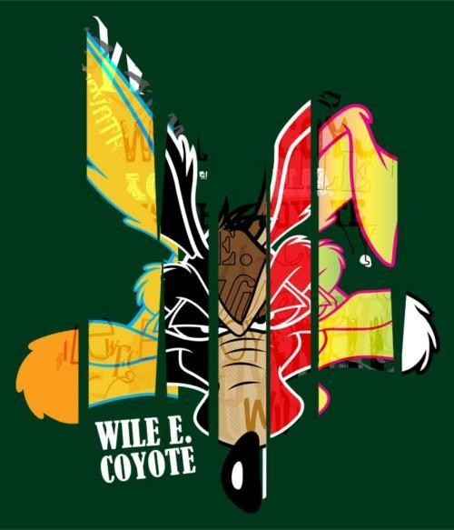 Graffiti Wile E. Póló - Ha Looney Tunes rajongó ezeket a pólókat tuti imádni fogod!
