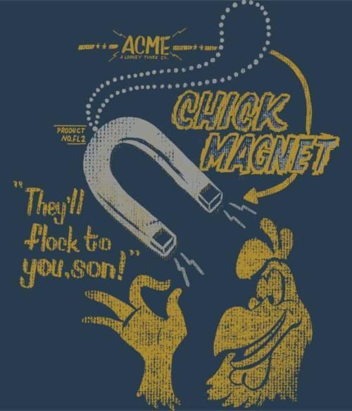 Chick Magnet Póló - Ha Looney Tunes rajongó ezeket a pólókat tuti imádni fogod!