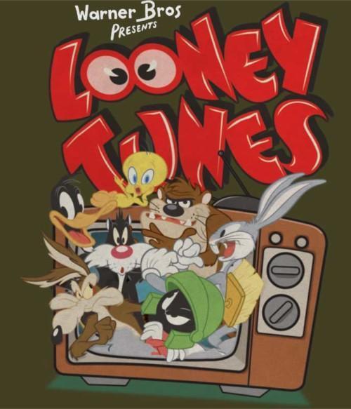 Looney Tunes Television Póló - Ha Looney Tunes rajongó ezeket a pólókat tuti imádni fogod!