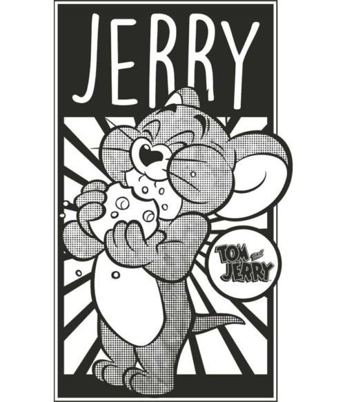 Jerry monochrome Póló - Ha Tom and Jerry rajongó ezeket a pólókat tuti imádni fogod!