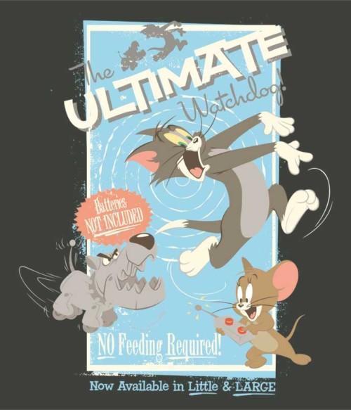 The ultimate Watchdog Póló - Ha Tom and Jerry rajongó ezeket a pólókat tuti imádni fogod!