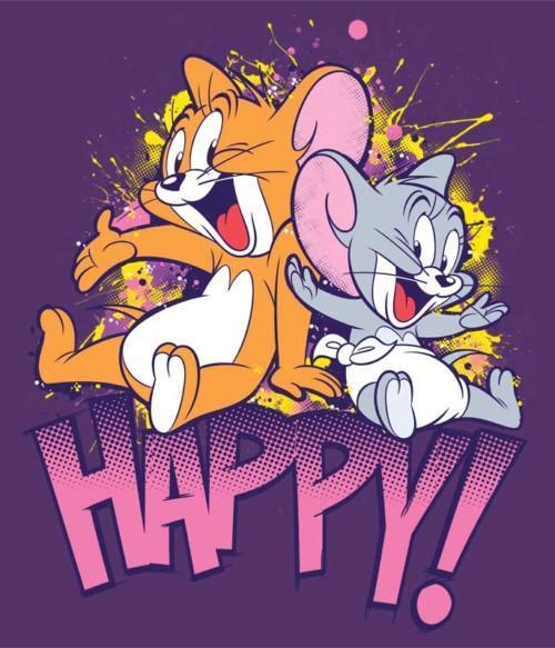 Happy mouses Póló - Ha Tom and Jerry rajongó ezeket a pólókat tuti imádni fogod!