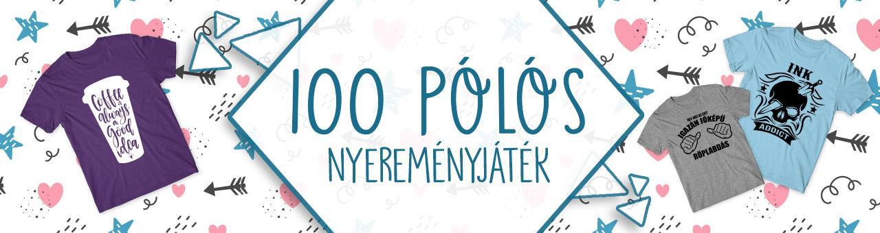 100 póló nyereményjátek – 2019 február