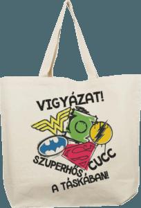 Szuperhős ajándék táska - 2019
