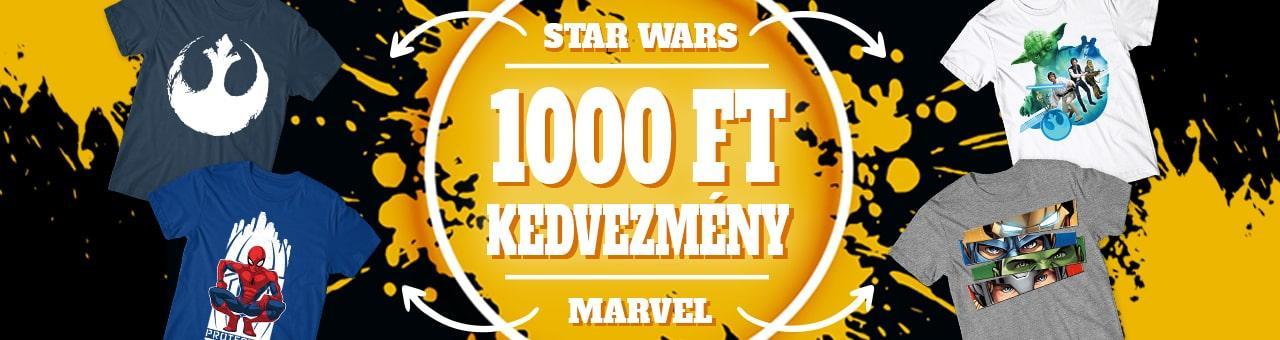 Star Wars és Marvel 1000-es akció - 2019