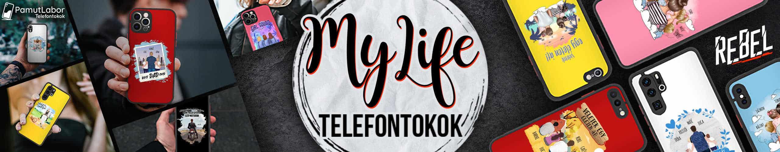 MyLife Telefontokok! - Perszonalizált Termékek
